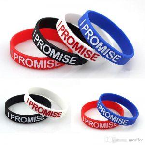 personalized rubber bracelets