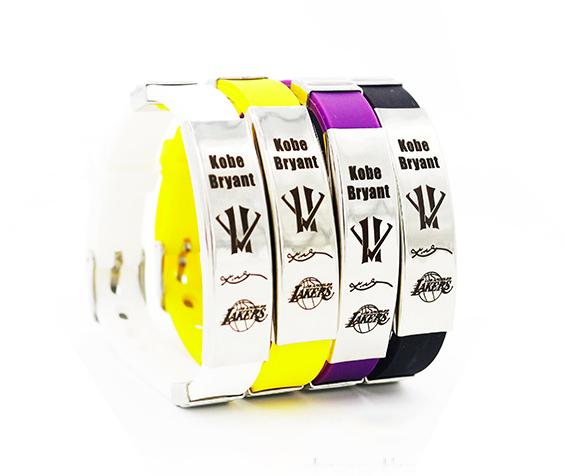 Kobe Bryant silicone wristband